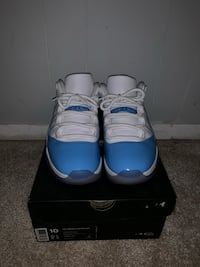 pair of UNC Air Jordan 11's with box Rockville, 20852
