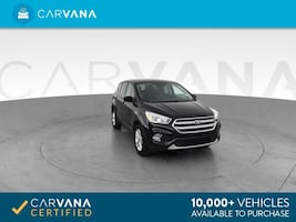 2017 Ford Escape suv SE Sport Utility 4D Black