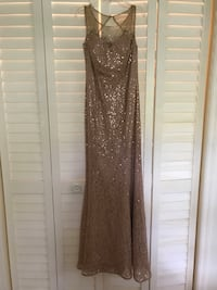 Rose gold evening/prom dress  Tampa, 33617
