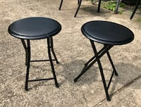 $20 - Pair of vinyl topped stools Rockville, 20851