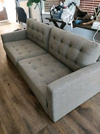 Tweed sofa - like new condition never used Los Angeles, 90026