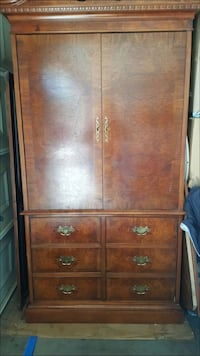 brown wooden armoire North Las Vegas, 89031
