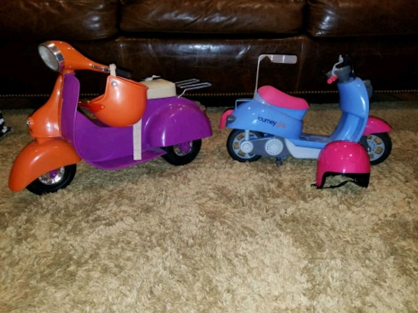 American Girl Scooters (two)