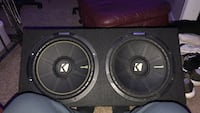 2 12 inch kicker comp c subs new and great condition  Aurora, 80015