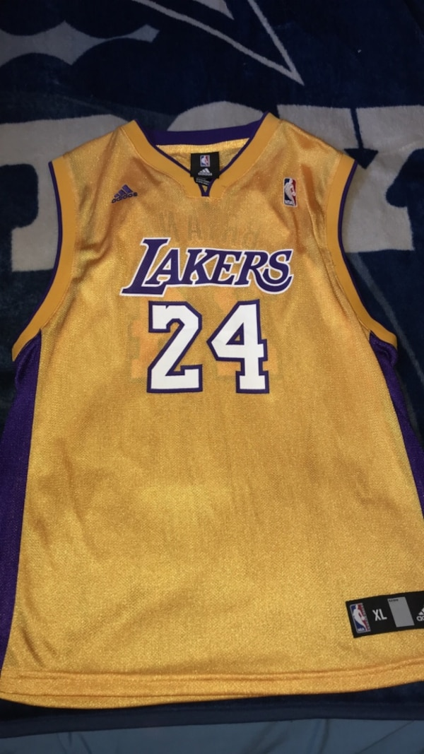 uk availability f8b1f 3b9b0 Los Angeles Lakers Jersey Kobe Bryant #24