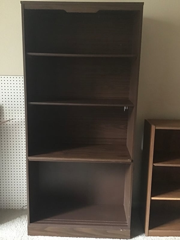 Used Shelves And Futon Frame For