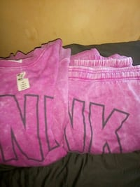Pink new medium sweatsuite