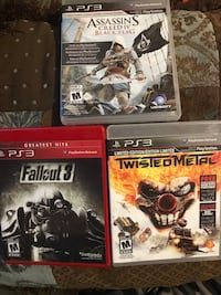 3 PS3 Games. Guelph, N1H 2A6