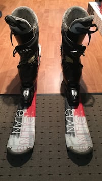 BRAND NEW ELAN SKIS WITH ITALIAN DALBELLO SKI BOOTS SIZE 10...LITERALLY WORN ONE TIME AND ARE IN EXCELLENT CONDITION  Toronto, M3K 1C4