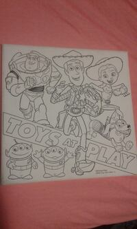 Color in toy story painting Dardenne Prairie