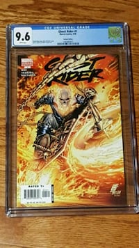 #1 Ghost Rider CGC Graded comic book Marvel
