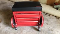 red and black tool cabinet Ambler, 19002