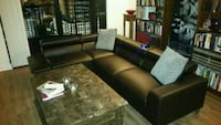 Leather sectional  758 mi