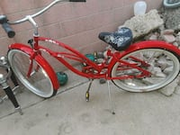 red beach cruiser bike Santa Ana, 92703