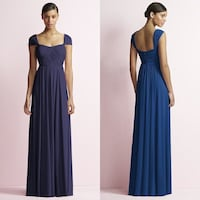 Jenny Yoo Blue Long Maxi Bridesmaid Dress - Size 2 Springfield, 07081