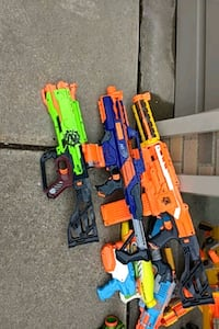 Nerf guns Clinton Township, 48038
