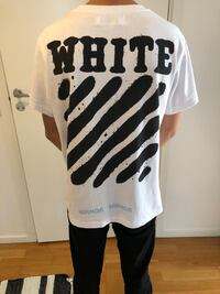 Off White Heavy T-shirt White | Size: Small Stockholm