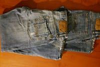 Young men A&E pants size 28x28 like new price,each Blue Rock, 43720