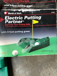 Green and black green and white ryobi chainsaw box Colorado Springs, 80925