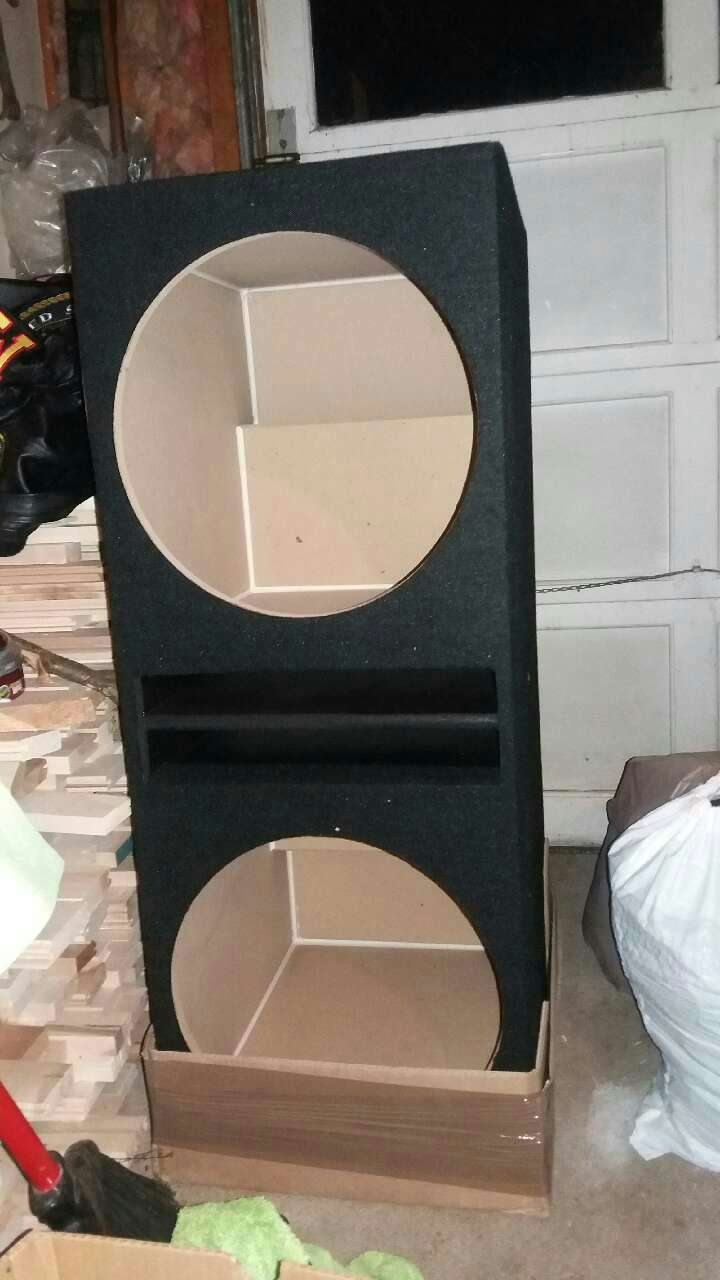 I 5 ported subwoofer box