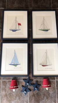 Four sailboat wall decors Gulf Shores, 36542