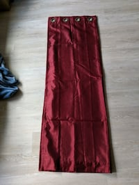 Red Blackout Curtains (4 panels)