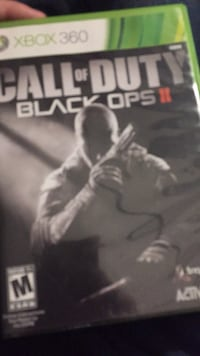 Call of Duty Black Ops 2 Xbox 360 game case St Catharines, L2P 3T8
