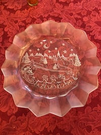 Glass cookie plate  39 km