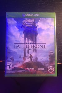 NEVER OPENED STAR WARS BATTLEFRONT XBOX ONE GAME
