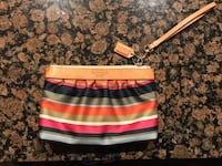 Coach wristlet wallet pouch can be used as makeup pouch Richmond, V6V 0B1