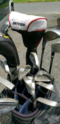 Golf Clubs- Full set with Black Dot Ping Irons Bel Air, 21014