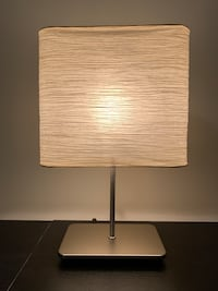 white and black table lamp Reston, 20190