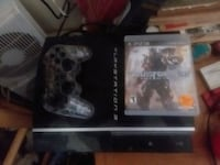 black Sony PS3 game console Salina