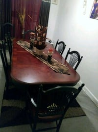 brown wooden dining table set Wyncote, 19095