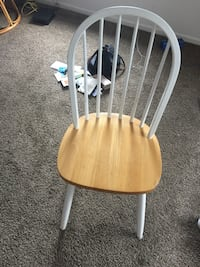 brown and white wooden windsor chair Rochester, 14607
