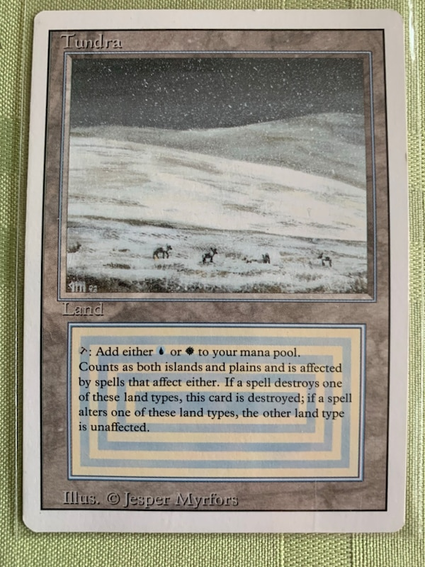 Magic the gathering trading card. Very rare!