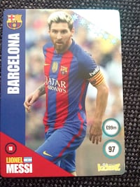 Lionel Messi trading card