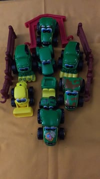 assorted-color plastic toy lot Damascus, 20872