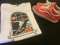 Vans men's size 11 and ASOS tee size medium (new) Laurel, 20708