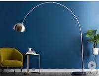 Structube floor lamp. Barely used. Retails for $159 plus tax   Toronto, M6K 0B1