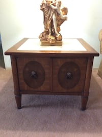 Vintage End Table with Storage with Marble Top   Port Richey, 34668