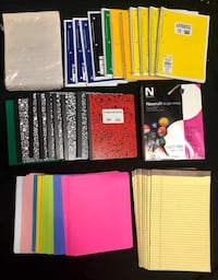 Notebooks, Legal Pads, Paper, Etc. - All Brand New!! Charleston, 29414