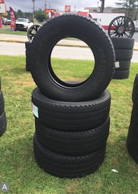 4 Firestone Transforce AT LT275/70R18 Used Tires Tire ID:D3459 Decatur, 30033
