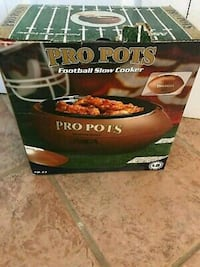 Pro Pots Football Crock Pot