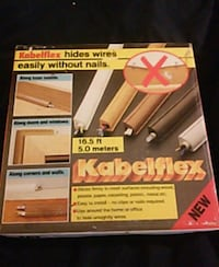 Kabelflex hides wires without nails 16.5 feet waln Chicago, 60626