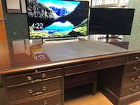 Gorgeous Dark Mahogany Myrtle Office Set Raleigh, 27607