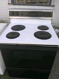 white and black electric coil range oven Tucson, 85713