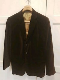 Brown velour jacket size 40 Toronto, M4G 1G8