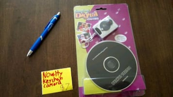 Novelty keychain camera/PC webcam