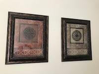 two brown wooden framed wall decors Orlando, 32824